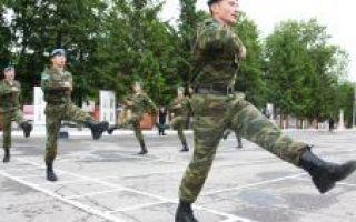Призыв в армию — периоды и сроки службы новобранцев