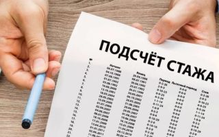 Порядок подтверждения стажа работы для пенсии