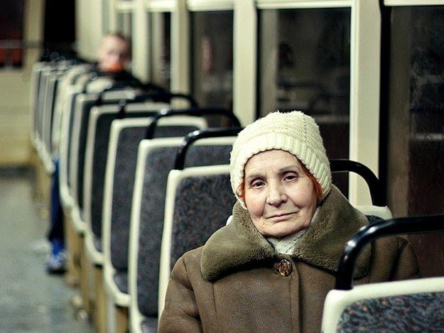 Льготы пенсионерам на бесплатный проезд - социальная карта