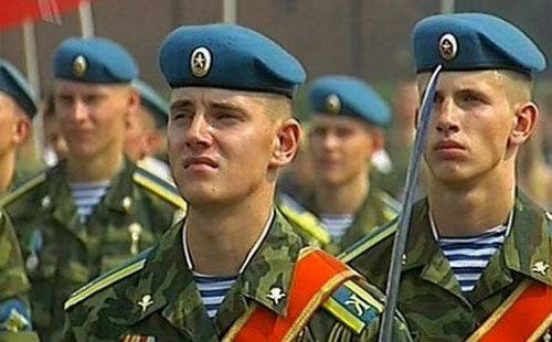 Виды войск в армии для службы по призыву