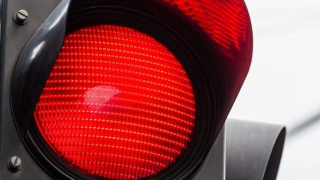 Штраф за проезд на красный свет