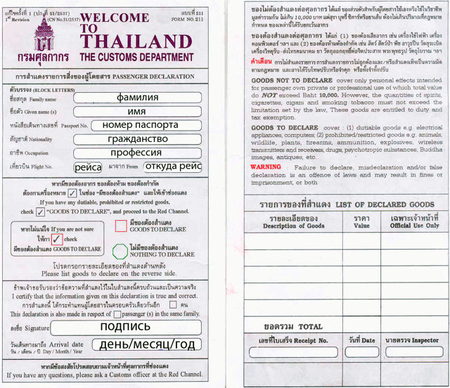 Виза в Тайланд: когда она необходима, ее виды и сроки действия