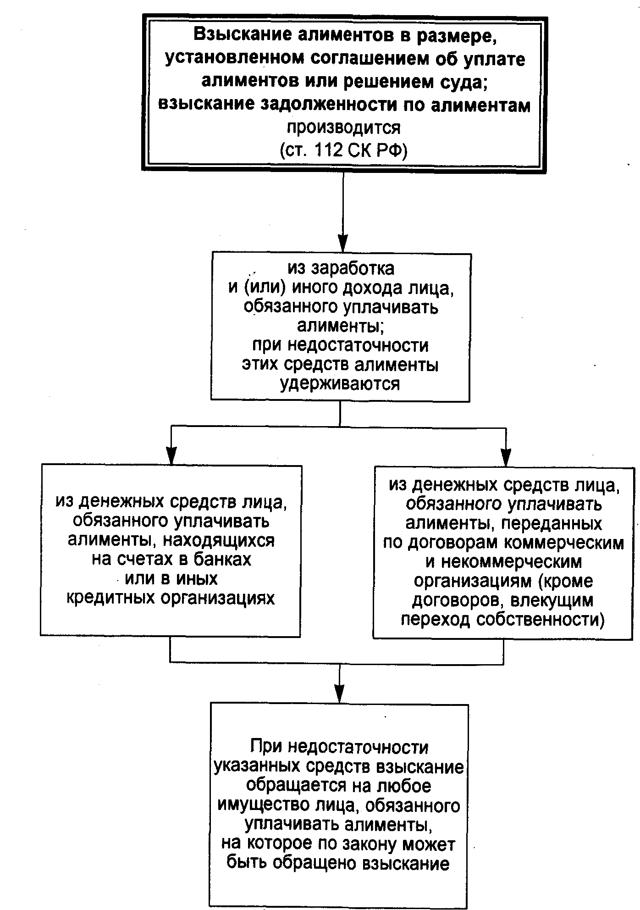 Что говорит Семейный кодекс РФ об алиментах