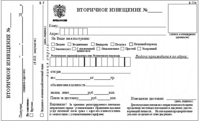 Как забирать посылку с почты: обязательные документы