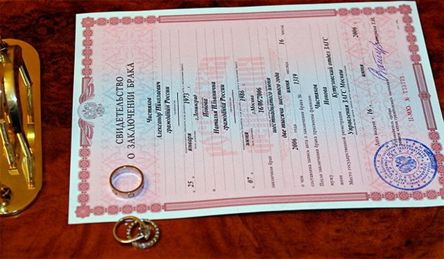 Как восстановить свидетельство о браке при утере