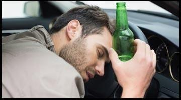 Через сколько можно садится за руль после бутылки пива