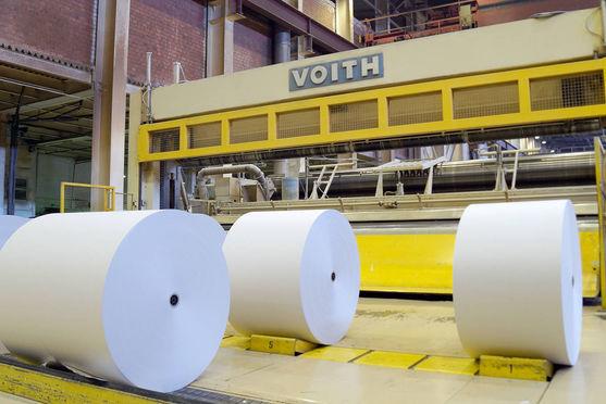 Бумкомбинат «Волга» замкнул производственный цикл